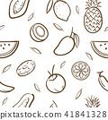 fruits, vector, food 41841328
