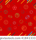 Sport theme seamless pattern background 41841333