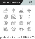 icon, money, vector 41842575