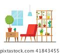 vector interior furniture 41843455