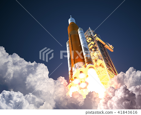Space Launch System Takes Off 41843616