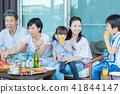 ครอบครัวสามรุ่น, อาหาร, บาร์บีคิว 41844147