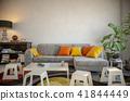 Blank wall interior 41844449