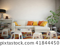 Blank wall interior 41844450