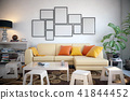 Picture frame set in the living room 41844452