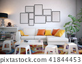 Picture frame set in the living room 41844453