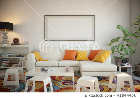 Picture frame set in the living room 41844456