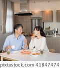 부부 식사 식당 라이프 스타일 이미지 41847474