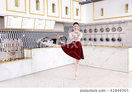 RF Photos- Ballet, graceful movement for lose weight. Concept of healthy lifestyle. 269 41849365