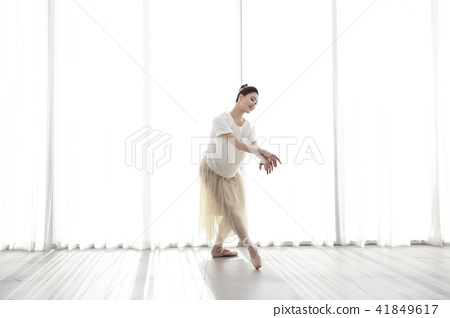 RF Photos- Ballet, graceful movement for lose weight. Concept of healthy lifestyle. 151 41849617