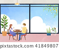 Vector - Go out to the beautiful spring season with family or lover illustration 008 41849807