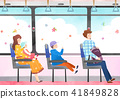 Vector - Go out to the beautiful spring season with family or lover illustration 002 41849828