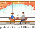 Vector - Go out to the beautiful spring season with family or lover illustration 010 41849838