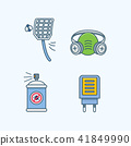 Vector - Set of Pets Related Vector Icons. Flat vector related icon for web and mobile applications 017 41849990
