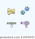 Vector - Set of Pets Related Vector Icons. Flat vector related icon for web and mobile applications 026 41850045