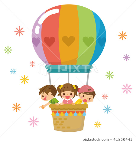 氣球上的孩子們 41850443