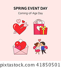 Vector - Spring event day icon set in colorful background 030 41850501