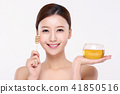 RF photos - beauty portrait of a young woman isolated on white background, concept for health and skin care. 114 41850516