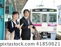 นักธุรกิจ,สถานี,สมาร์ทโฟน 41850621