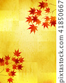 maple, yellow, leafe 41850667