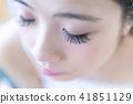 젊은 여성, 마쯔에쿠 업 41851129