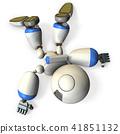 หุ่นยนต์ที่ชำรุดและลง 41851132