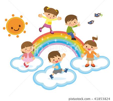彩虹和孩子們 41853824