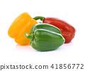 pepper on white  background 41856772