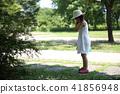 เด็กเล่นในสวนสาธารณะ 41856948