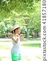 เด็กเล่นในสวนสาธารณะ 41857180