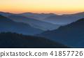 mountain, sunrise, cloud 41857726