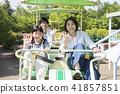 親子遊樂園騎單車單軌鐵路 41857851
