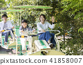 親子遊樂園騎單車單軌鐵路 41858007