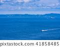 (가나가와 현) 간논 자키 바다를 항행하는 선박 41858485