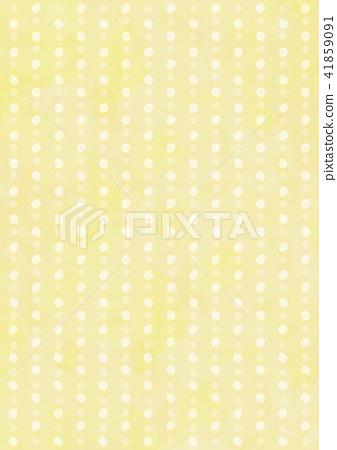 손으로 그린 바람 물방울 라인 배경 (노란색) 41859091