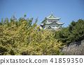 名古屋市风景·秋天的名古屋城堡 41859350