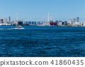 大阪安康河口的風景。靠近大阪。 41860435