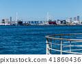 大阪安康河口的風景。靠近大阪。 41860436