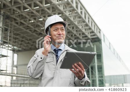 商人建造場所室外建築企業圖像 41860923