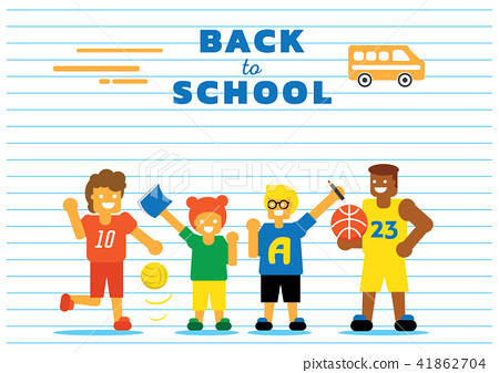 school bus back to school background design 41862704