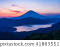 """Kanagawa prefecture"" From Hakone Daikanyama to Mt. Fuji sunset view 41863551"