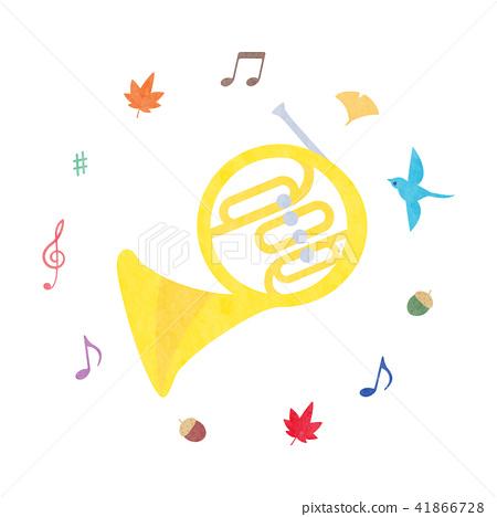 Material - Instrument (Horn) Texture 41866728