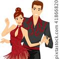 couple, ballroom, dance 41866820