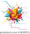 abstract vector design 41869933