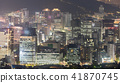 Night view of Seoul Downtown cityscape 41870745