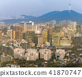 Night view of Seoul Downtown cityscape 41870747