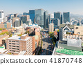 myeongdong Downtown cityscape in South Korea 41870748