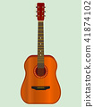 Classical acoustic guitar 41874102