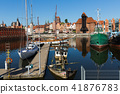 Motlawa embankment in Gdansk 41876783