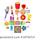 musical, icons, set 41878254